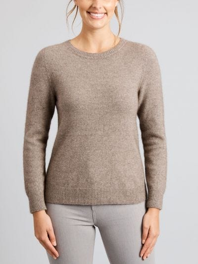 Duffy Merino Wool Crew Jumper
